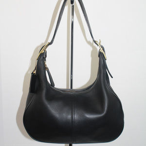 Vintage Coach West Small Zoe Hobo  9342